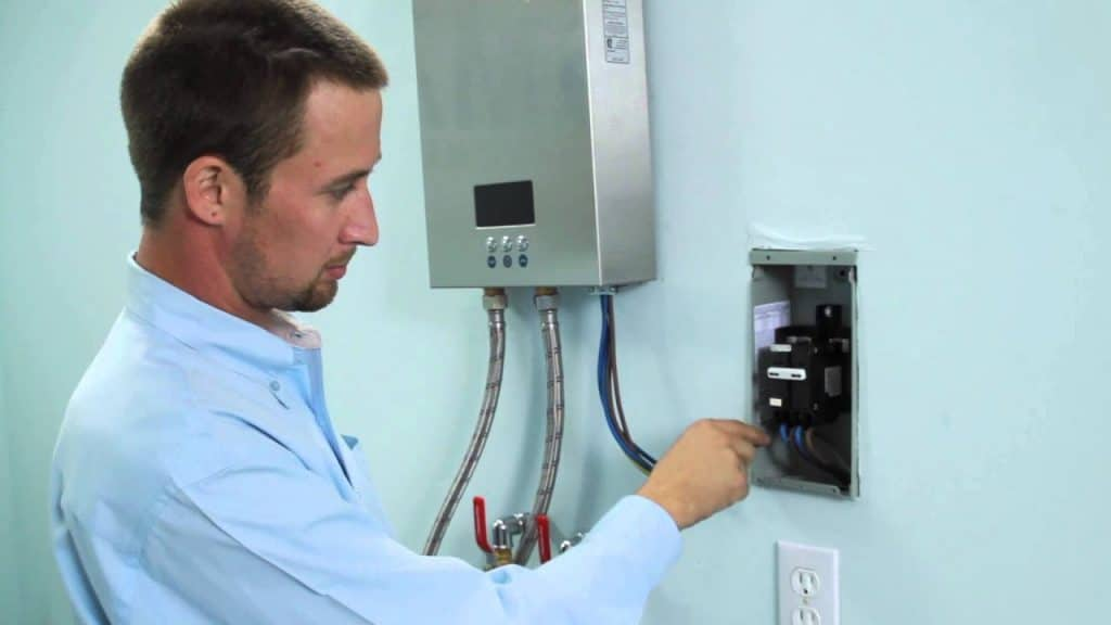 Installation Of Tankless Water Heater