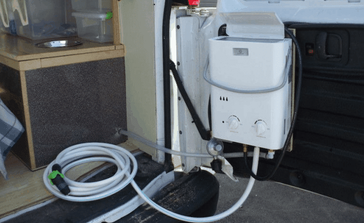 tankless water heater for RV