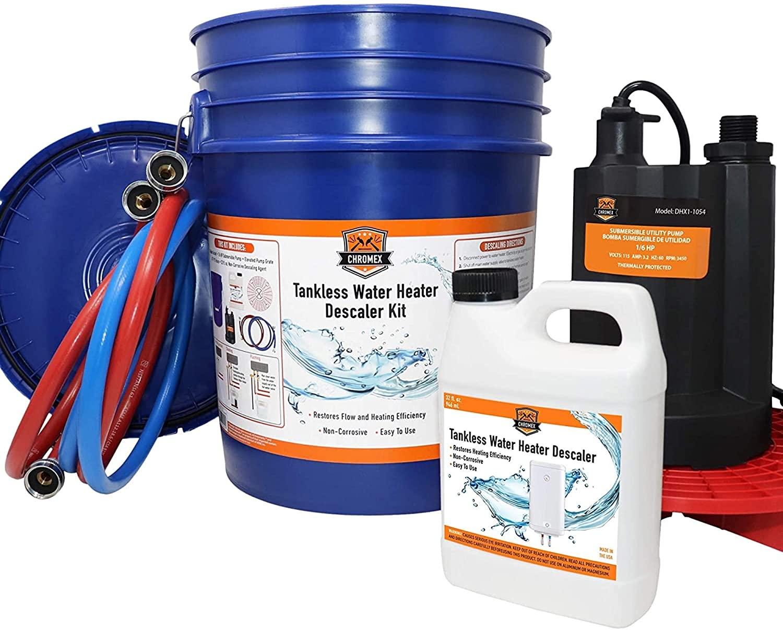 Chromex Tankless Water Heater Flush Kit