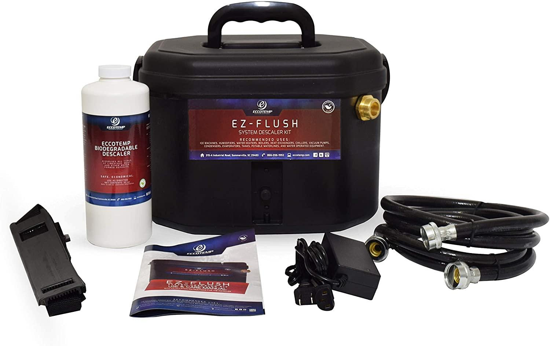 Eccotemp EZ Flush System Descaler Kit with Pump and Solution