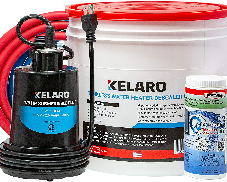 Kelaro Tankless Water Heater Flushing Kit