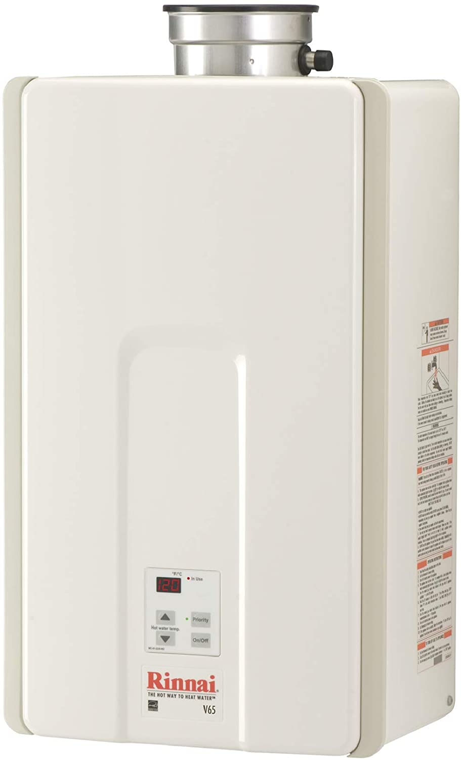 Rinnai V65IN Natural Gas Heater