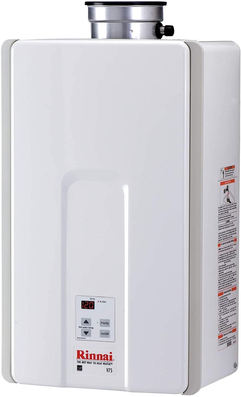 Rinnai V75iP Tankless Hot Water Heater