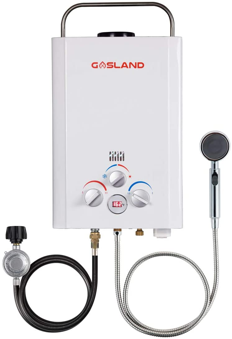 GASLAND BE158 1.58GPM 6L Outdoor Portable Gas Water Heater