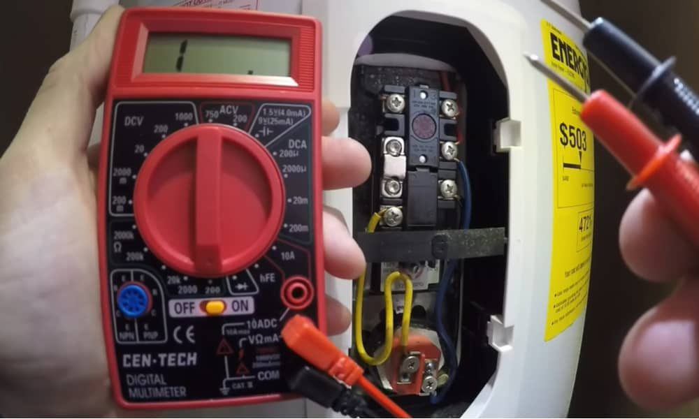 Steps to Test Water Heater Element